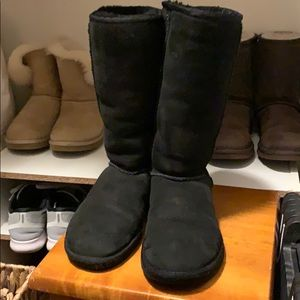 UGG classic tall boots (black)